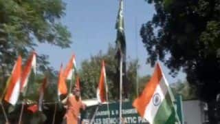 BJP Workers Detained For Trying to Hoist National Flag at Lal Chowk, PDP Office in Srinagar | Watch Video