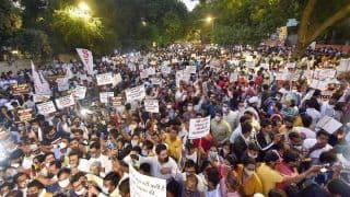 Hathras Gangrape Case: Protesters at Jantar Mantar Seek Yogi's Resignation; UP Govt Suspends SP, DSP, Other Officials | Key Points