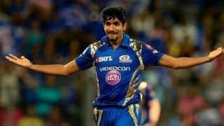Mi vs rcb jasprit bumrah completes 100 ipl wickets depart virat kohli as first and 100th wicket 4189328