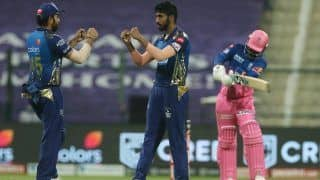 IPL 2020 Points Table After Match 20: Mumbai Indians Reclaim Top Spot After Beating Rajasthan Royals, Jasprit Bumrah Takes Second Spot in Purple Cap Tally, KL Rahul Holds Orange Cap