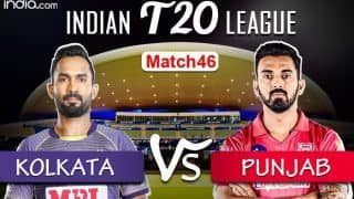 LIVE IPL 2020 KKR vs KXIP Scorecard, IPL Today's Match Live Score And Updates Online Match 46: Confident Punjab Aim to Sustain Momentum vs Rejuvenated Kolkata