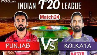 IPL 2020 Live Blog: Kings XI Punjab vs Kolkata Knight Riders