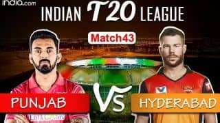 IPL 2020 LIVE Kings XI Punjab vs Sunrisers Hyderabad Match 43 Live Cricket Score And Updates: Battle Of Survival As Punjab Face Hyderabad