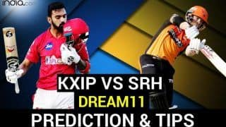 KXIP vs SRH Dream11 Team Prediction Dream11 IPL 2020: Captain, Vice-captain, Fantasy Playing Tips, Probable XIs For Today's Kings XI Punjabvs Sunrisers Hyderabad T20 Match 43 at Dubai International Cricket Stadium 7.30 PM IST October 24 Saturday