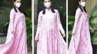 Mom-to-be Kareeena Kapoor Khan Stuns in Rs 25,000 Pink Dress by Masaba Gupta