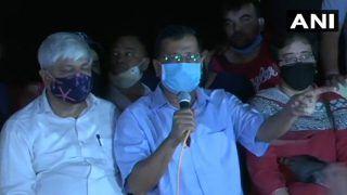 हाथरस कांड: जंतर-मंतर पर हो रहे प्रदर्शन में शामिल हुए दिल्ली CM केजरीवाल, बोले- इस मुद्दे पर कोई राजनीति नहीं होनी चाहिए