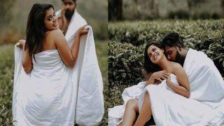 Post-Wedding Hot Photoshoot : घने जंगल में कपल ने चादर लपेटकर कराया 'वाइल्ड' पोस्ट-वेडिंग फोटोशूट, Photo Viral