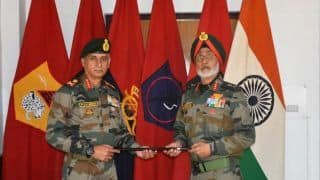 Indian Army's Fire and Fury Corps in Leh Gets Lt Gen P G K Menon as Its New Head