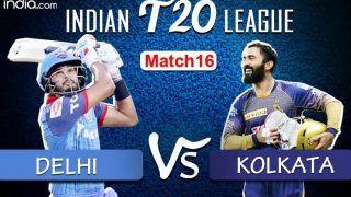 LIVE Delhi Capitals vs Kolkata Knight Riders Match 16 Live Cricket Score And Updates: Karthik & Co Look to Continue Winning Momentum in Sharjah