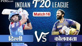 LIVE IPL SCORE, DC vs KKR: कोलकाता ने टॉस जीतकर दिल्ली को पहले बल्लेबाजी के लिए बुलाया