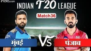 LIVE IPL SCORE, MI vs KXIP: आज मुंबई के सामने पंजाब की चुनौती, शाम सात बजे होगा टॉस