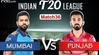 IPL 2020 LIVE Mumbai Indians vs Kings XI Punjab Match 36 Live Cricket Score And Updates: Rampaging MI up Against Gayle-Inspired Punjab