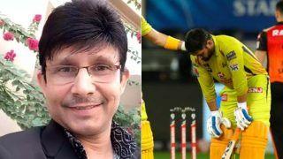 धोनी को रिटायरमेंट की सलाह देने पर KRK पर भड़के फैन्स, बोले- 'क्रिकेट मत सिखा अपने बाप को'