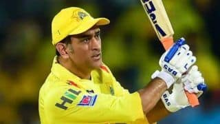 Csk vs rr ms dhoni completes 4000 run for chennai super kings in 200 ipl match 4178635