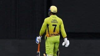 IPL 2020: Captain MS Dhoni Says Spark Was Missing in CSK Youngsters