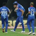 IPL Match Report: Marcus Stoinis' All-round Show Powers Delhi Capitals to 46-run Win Over Rajasthan Royals, Claim Top Spot in Points Table