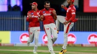 IPL 2020 Points Table Today Latest Update After KKR vs KXIP, Match 46: Kings XI Punjab Move to Fourth Spot After Win Over Kolkata Knight Riders; KL Rahul Extends Lead Over Orange Cap, Mohammed Shami Grabs 2nd Spot in Purple Cap Tally