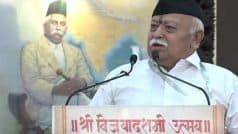 Using CAA, 'Opportunists' Unleashed Organised Violence: Mohan Bhagwat in Dussehra Speech
