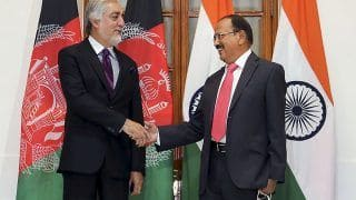 NSA Ajit Doval Holds Talks With Peace Council Chief Abdullah Abdullah For 'Independent' Afghanistan