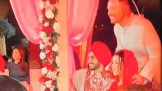 Tony Kakkar Shares New Video From Neha Kakkar's Wedding Pheras, Do Not Miss Her Sindoor