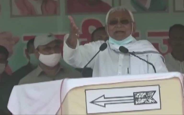 Bihar Assembly Elections 2020: Crime Reduced in State, Says Nitish Kumar in Muzaffarpur Rally