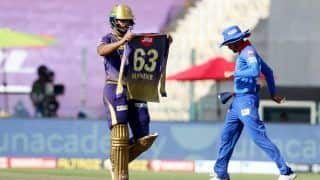 KKR vs DC 2020 IPL News: Nitish Rana Dedicates Half-Century To His Late Father-In-Law Surinder Who Lost Battle To Cancer