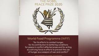 2020 Nobel Peace Prize: वर्ल्ड फूड प्रोग्राम को मिला 2020 का नोबेल शांति पुरस्कार, जानिए क्या है WFP?