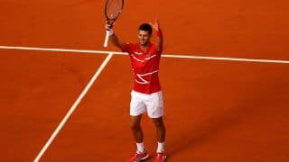 French Open 2020: Novak Djokovic Matches Roger Federer's Roland Garros Tally With Dominating Win Over Ricardas Berankis