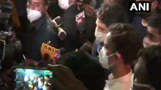Gandhis Meet Hathras Rape Victim's Kins: Priyanka Tweets Their Demands, Rahul Assures Support   Highlights