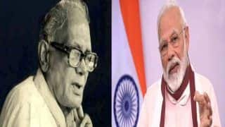 लोकनायक जयप्रकाश नारायण की जयंती पर उपराष्ट्रपति ने दी श्रदांजलि, पीएम मोदी बोले- उनके लिए राष्ट्रहित से बढ़कर कुछ नहीं था