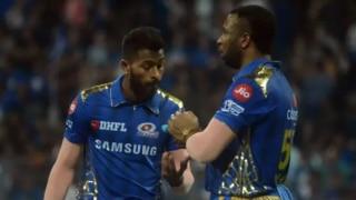 IPL 2020: कप्तान रोहित शर्मा ने कहा- हार्दिक और पोलार्ड के प्रदर्शन से खुश हूं