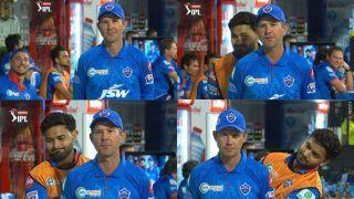 IPL 2020: Rishabh Pant Videobombs Ricky Ponting During DC vs CSK Clash | WATCH VIDEO