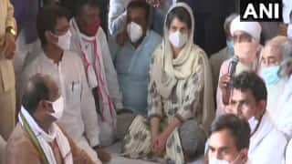 Hathras Gangrape Case: Priyanka at Prayer Meet Says Will Ensure Justice For Victim, Rahul Alleges UP Govt Hiding Truth