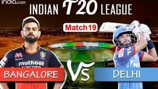 LIVE Royal Challengers Bangalore vs Delhi Capitals IPL 2020 Match 19 Live Cricket Score And Updates: Battle of Equals as Virat Kohli's RCB Take on Delhi Capitals