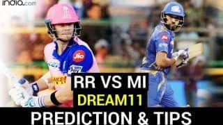 RR vs MI Dream11 Team Prediction Dream11 IPL 2020: Captain, Vice-captain, Fantasy Playing Tips, Probable XIs For Today's Rajasthan Royals vs Mumbai Indians T20 Match 45 at Sheikh Zayed Stadium, Abu Dhabi 7.30 PM IST Sunday October 25