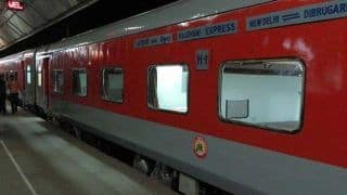 India's First Rajdhani Express With Pull-push Technology to Run Daily From Tuesday