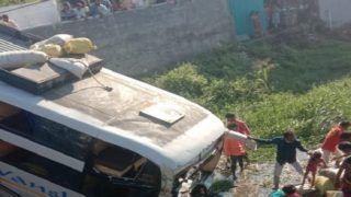 Bus Full of Passengers Falls Into Canal Near Rajkot, 2 Injured
