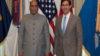 US-India Relation: रक्षामंत्री के स्तर पर दोनों देशों के बीच हुई वार्ता, इन मुद्दों पर हुई चर्चा