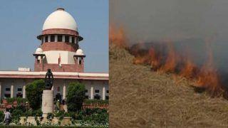 SC ने पराली जलाने पर रोक के लिए Retd Justice की अगुवाई में पैनल का गठन किया, SG ने विरोध किया