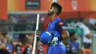 Shreyas iyer i feel that we fell around 10 runs short 4180073