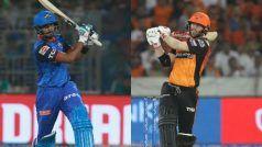 IPL 2020 SRH vs DC Live Streaming: कब और कहां देख सकेंगे हैदराबाद-दिल्ली मैच