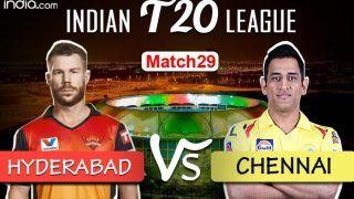 IPL 2020 MATCH HIGHLIGHTS Sunrisers Hyderabad vs Chennai Super King Match 29 Live Cricket Score And Updates: Williamson's Fifty in Vain; CSK Beat SRH by 20 Runs