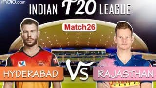 IPL 2020, SRH vs RR Today's Match Highlights: Tewatia, Parag Pull Off a Thrilling Five-Wicket Win Against Hyderabad
