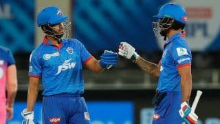 IPL 2020 Points Table Latest Update After DC vs RR, Match 30: Delhi Capitals Reclaim Top Spot After Beating Rajasthan Royals, Kagiso Rabada Maintains Strong Hold Over Purple Cap