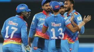 DC vs RR 11Wickets Fantasy Cricket Tips Dream11 IPL 2020: Pitch Report, Fantasy Playing Tips, Probable XIs For Today's Delhi Capitals vs Rajasthan Royals T20 Match 30 at Dubai Interntional Cricket Stadium 7.30 PM IST Wednesday October 14