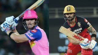 RR vs RCB Live Cricket Score, IPL 2020 Today's Match: Rajasthan Aim For Consistency Against Bangalore