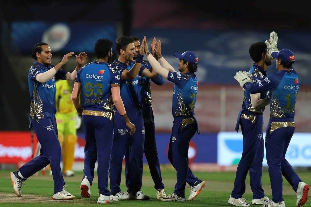 IPL 2020: Latest Points Table