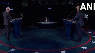Final US Presidential debate 2020 live: अमेरिका चुनाव में भी रोजगार है मुद्दा, जो बिडेन ने कहा- 1100 रुपये घंटा करेंगे न्यूनतम मजदूरी