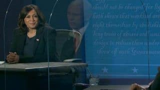 US Vice-Presidential Debate 2020: 'Greatest Failure,' Kamala Harris Tears Into Mike Pence For Covid-19 Handling, Says Won't Take Vaccine Endorsed by Trump