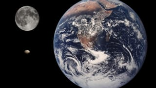 The Earth & Moon Once Shared The Same Magnetic Field 3.5 Billion Years Ago, Protecting Atmosphere